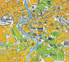 large rome maps for free download and print  highresolution and
