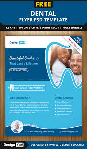 dental flyer psd template 1414 designyep flyers dental flyer psd template designyep
