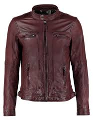 men jackets oakwood casey leather jacket bordeaux oakwood flat coated retrievers oakwood