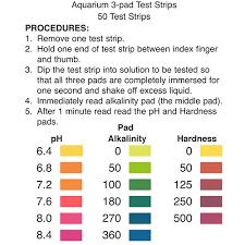Aquarium Test Strips 3 Pad Precision Laboratories