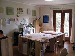 arts crafts home office. Fun Workspace Arts Crafts Home Office Interior Design Ideas