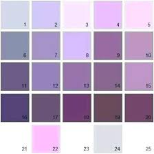 Purple Gray Paint Color Shades Of Brown Chart Grey