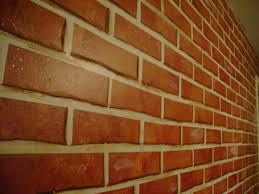faux brick wall faux much fun