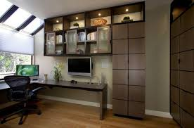 custom home office furnit. Custom Home Office Furniture With Modern Lighting Furnit