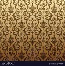 decorative wallpaper pattern royalty free vector image