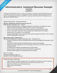 Resume Examples With Skills Section