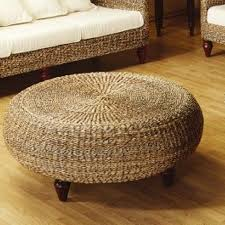 round wicker ottoman coffee table furniture favourites indoor picture inspirations