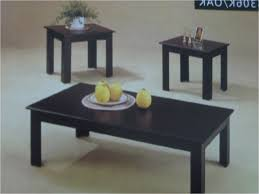 Full Size Of Coffee Table:magnificent Black Wood Coffee Table Black Glass Coffee  Table Set ...