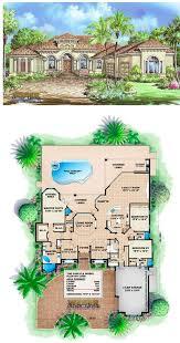 mediterranean house plan 1 story