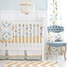 gold is chic and a perfect neutral color for baby bedding it looks beautiful paired with mint green c navy pink aqua or green