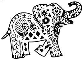 Small Picture Printable 21 Elephant Mandala Coloring Pages 8913 Printable