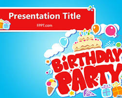 free happy birthday template free happy birthday powerpoint template free powerpoint templates