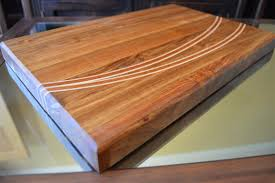 how to make wooden cutting boards with inlay designs