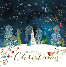 Christmas Cards Images Christmas Cards Starry Night Bloodwise