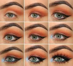 christmas glitter makeup tutorial