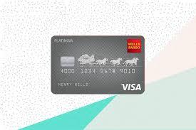 Wells Fargo Atm Card Designs Wells Fargo Platinum Visa Card Review Great Intro Apr