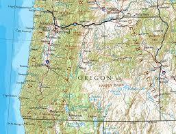 Oregon Map Online Maps Of Oregon State