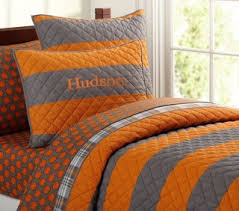 Orange And Grey Bedding Orange forters From Bed Bath Beyond