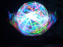 check out this awesome diy led orb with to spin on of course i don t think there s real purpose to