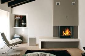 contemporary living room with corner fireplace. Contemporary Living Room With Corner Fireplace I