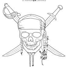 Small Picture Pirates of the caribbean coloring pages Hellokidscom
