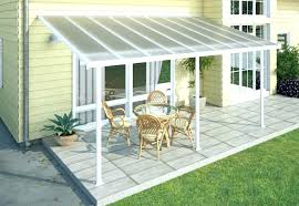 make a patio awning cover ideas easy diy door