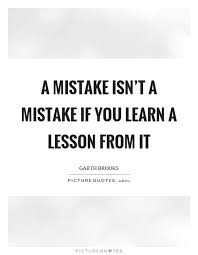 Learning A Lesson Quotes
