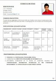 Resume Template Job Resume Format Download Pdf Free Career Resume