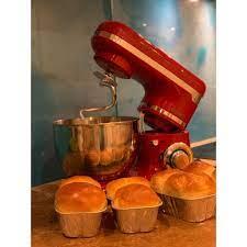 Máy trộn bột, máy đánh trứng Biolomix để bàn công suất lớn 1200w dung tích  4 lít thích hợp làm các loại bánh ( Hàng có s giá cạnh tranh