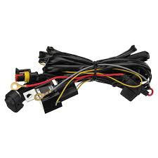 Bmw Fog Light Connector 12v 40a Led Fog Lights Wiring Harness Switch On Off For Bmw R1200gs F800gs Adv