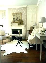 white faux cowhide rug architecture rugs for large plan from cow skin animal grey