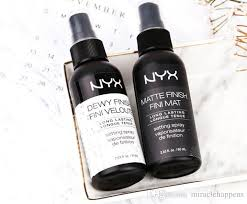 new arrival nyx makeup setting spray matte finish dewy finish long lasting setting spray 60ml face beauty best foundations best powder foundation from