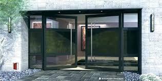 glass entry doors full front door commercial