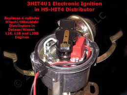 new hs hit4 replacement electronic distributor for vehicles hot spark 3hit4u1 electronic ignition conversion kit in hs hit4 4 cylinder hitachi