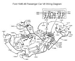 flathead electrical wiring diagrams wiring diagram for 1946 48 ford