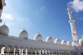 domes of abu dhabi grand mosque