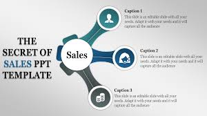 Sales Ppt Template Sales Ppt Template With Icons And Circle Shaped