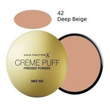 Max Factor Creme Puff Colour Chart Max Factor Creme Puff Pressed Powder