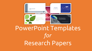 Research Paper Presentation Ppt Template Free Powerpoint Templates
