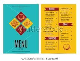Restaurant Menus Layout Type Design Restaurant Menu Template Layout Templates Menus