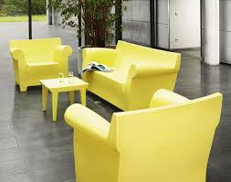 trendy outdoor furniture. bubble club sofa armchair and table philippe starck kartell trendy outdoor furniture