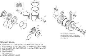 rotax 503 ul crankshaft piston parts from california power systems rotax 582 maintenance schedule at 503 Engine Diagram