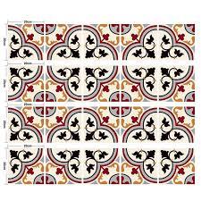 uk 20pcs boho mexican wall tile sticker decal