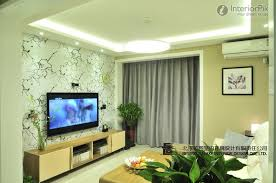 wallpapers for room walls fascinating 5 living room tv wall design