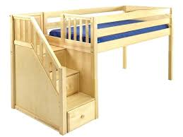 diy loft bed with stairs bunk bed with stairs plans image of junior loft bed with
