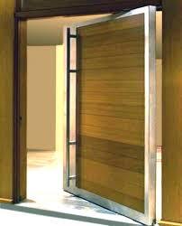 modern front double door. Modern Double Doors Exterior Front  Steel Pivot . Door