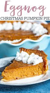 eggnog pumpkin pie recipe easy
