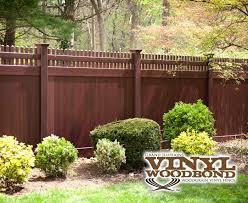 Wonderful Vinyl Privacy Fence Ideas Illusions Pvc Photo Inside Decor