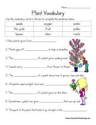 For that, it is important to have extensive knowledge about plants. Plants Worksheets Have Fun Teaching