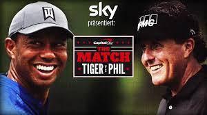 Tiger Woods gegen Phil Mickelson ...